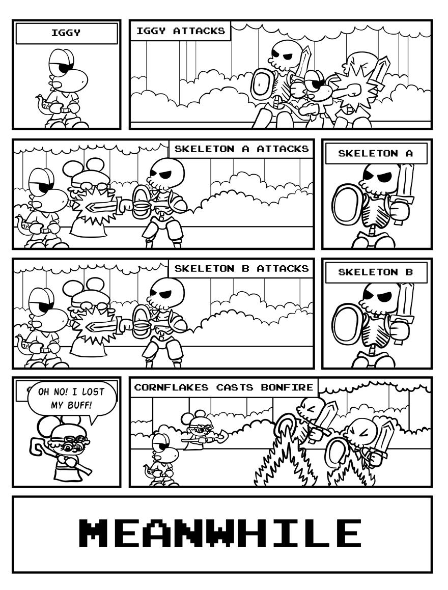 Yay turn-based combat!